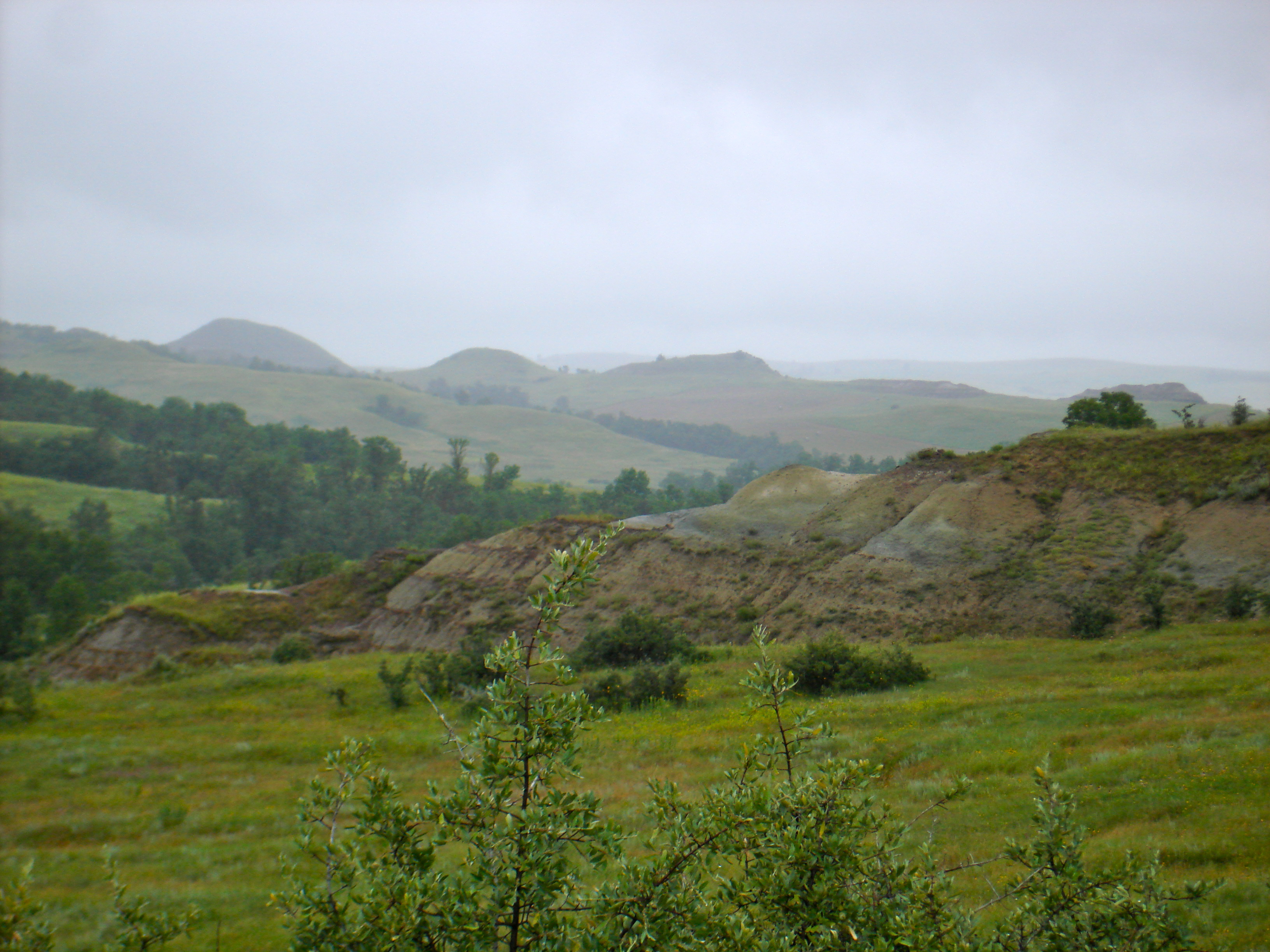 Rain on the Buttes