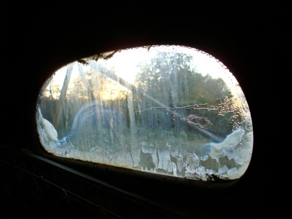 October 9, 2010. Rearview