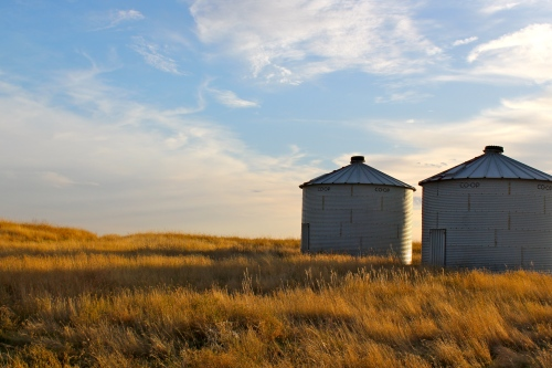 October 16, 2010. Grain Bins