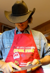 Cowboy Cooks Noodles And Crunchies Meanwhile Back At