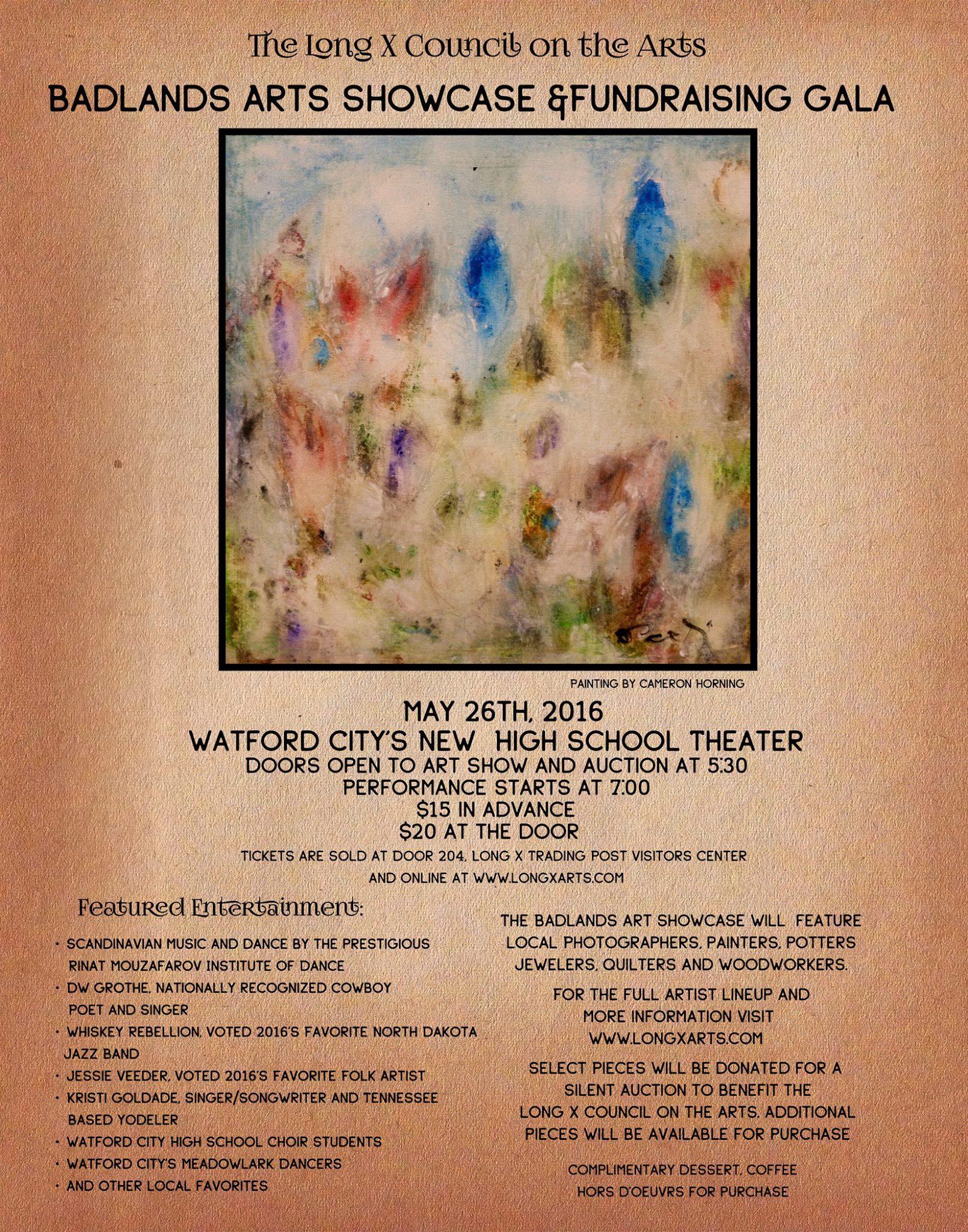 Arts Showcase Poster