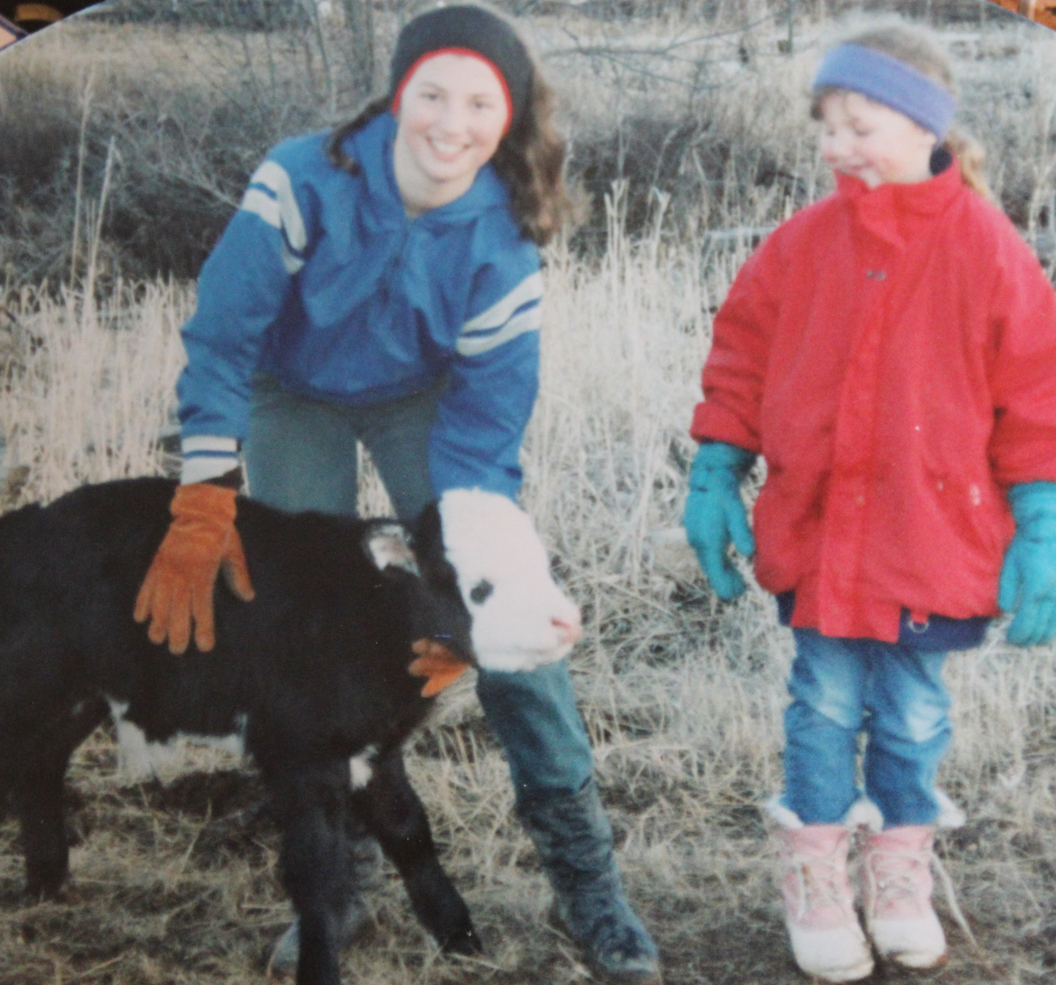 25-jessie-and-little-sister-alex-with-thier-bottle-calf-named-pooper
