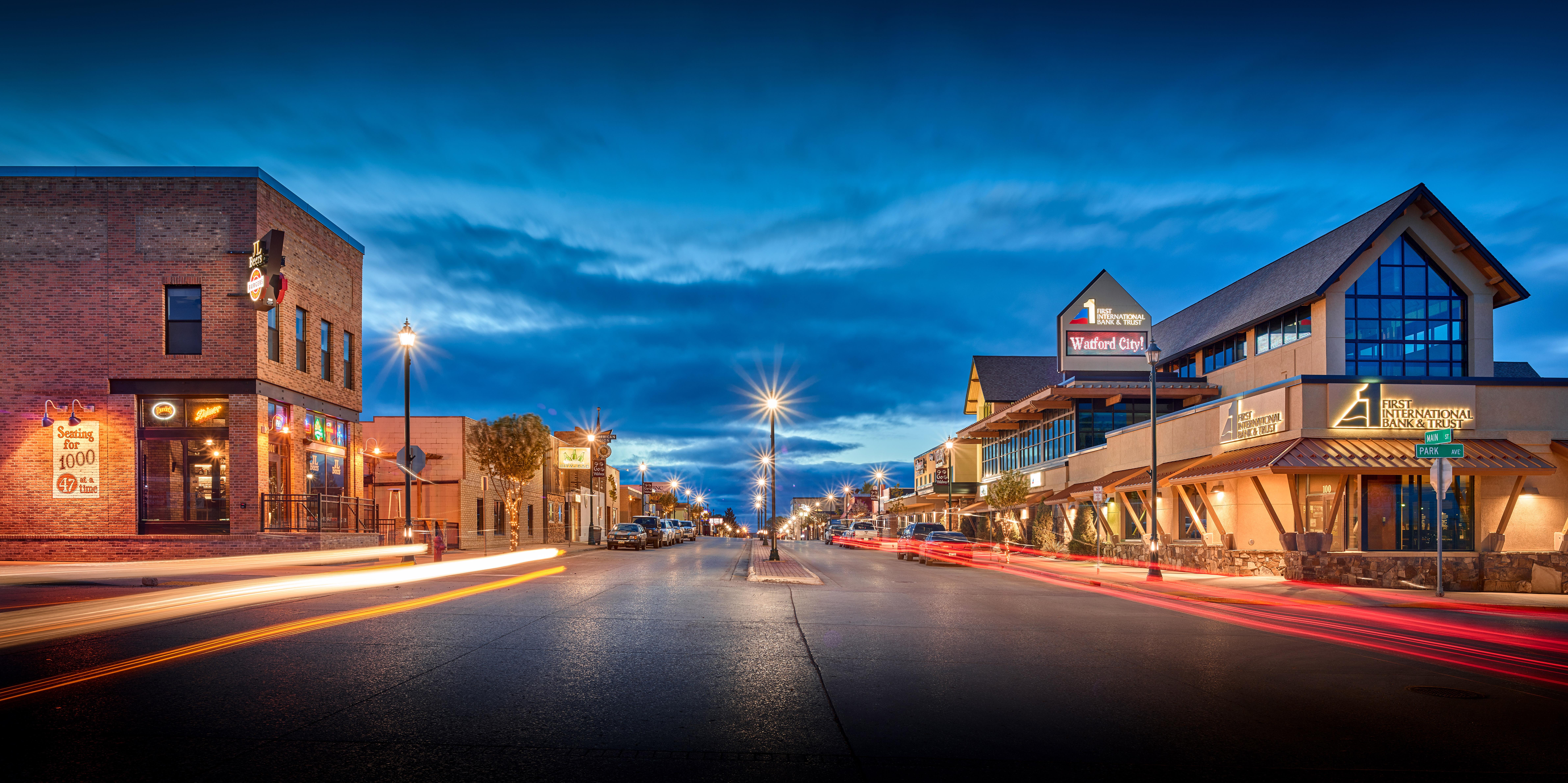 Main Street, Watford City